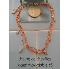 CHAINE DE CHEVILLES